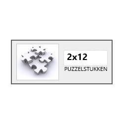 2x12 stukjes