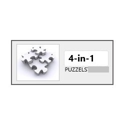 4-in-1 puzzels