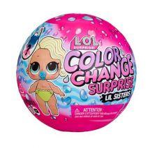 LOL Surprise Color Change Lil Sisters