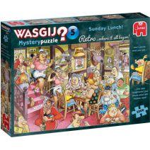 Puzzel Wasgij Retro Mystery 5: 1000 stukjes