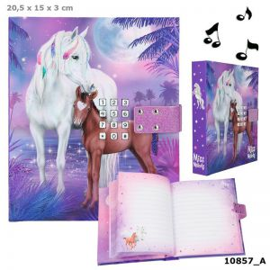 Miss Melody dagboek met code Heartbreaker