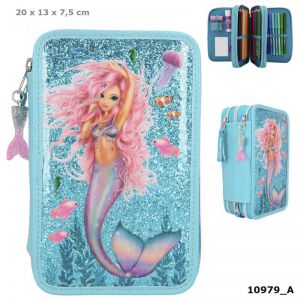 Fantasy Model 3vaks etui gevuld MERMAID