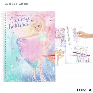 Create your Fantasy Model kleurboek BALLET