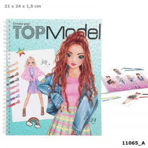 Create your TOPModel kleurboek 11065