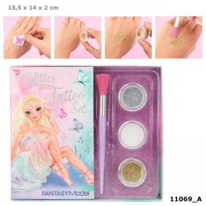 Fantasy Model glitter-tatoeage-set BALLET