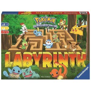 Spel Doolhof Pokemon