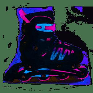 Inline skates Alert Roze/blauw 35-38