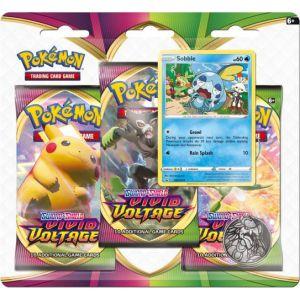 Pokemon TCG Sword En Shield Vivid Voltage 3 Boosterblister Assorti