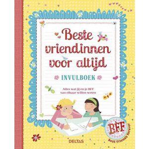 Vriendenboek beste vriendinnen voor altijd invulboek