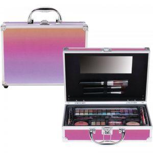 Casuelle make-up koffer rainbow 45-delig