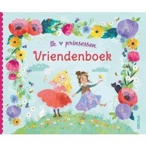 Vriendenboek ik hou van prinsessen
