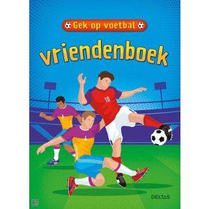 Vriendenboek gek op voetbal
