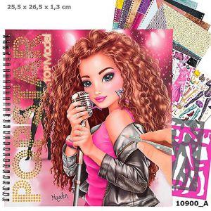 TOPModel POPSTAR kleurboek