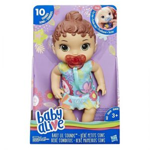 Baby alive lil sounds baby Brunette