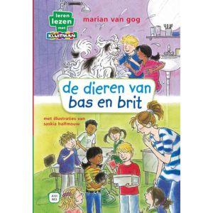 Boek AVI M3 de dieren van bas en brit