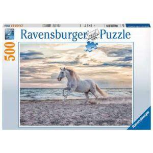 Puzzel 500 stuks paard op het strand