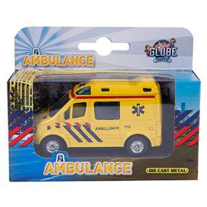 Auto pullback ambulance 8cm
