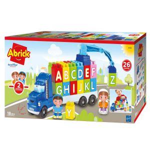 Abrick vrachtwagen blokken ABC