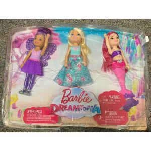 Barbie dreamtopia Chelsea multipack