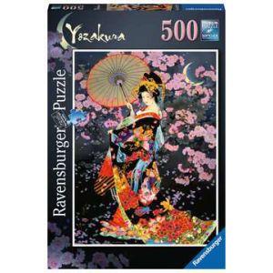 Puzzel 500 stuks Yozakura
