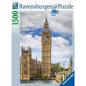 Puzzel 1500 Kat op de Big Ben