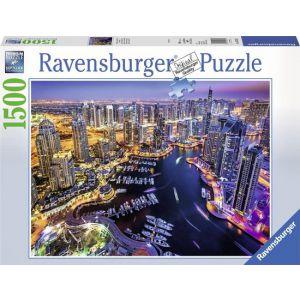 Ravensburger puzzel Dubai aan de Perzische Golf - legpuzzel - 1500 stukjes