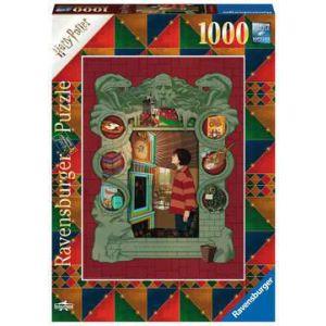 Puzzel 1000 stuks Harry Potter - bij de Weasley familie