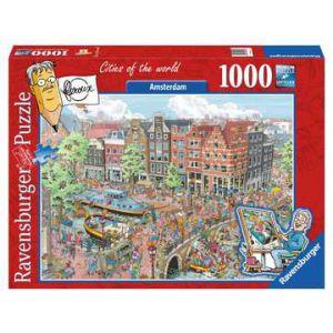 Puzzel 1000 stuks fleroux Amsterdam