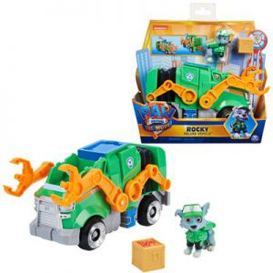 Paw Patrol The Movie Deluxe Basic Vehicle Rocky