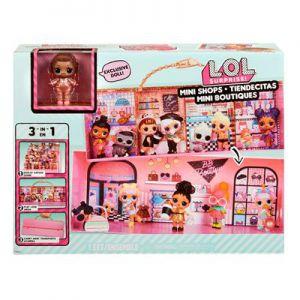 LOL surpise mini shops playset
