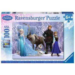 Puzzel 100 stukjes frozen
