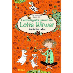 Boek Lotte wirwar boerderij op stelten