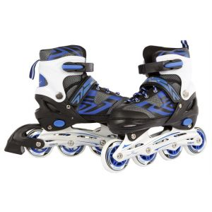 Inline skates blauw/zwart maat 31/34