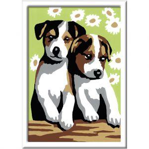 Ravensburger Schilderen Op Nummer Schattige Puppies