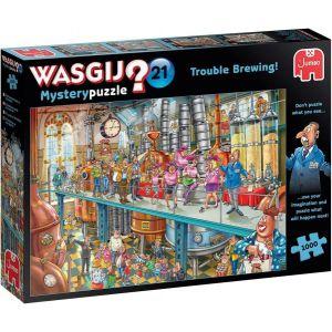 Wasgij Mystery Puzzel 21 Trouble Brewing 1000 Stukjes