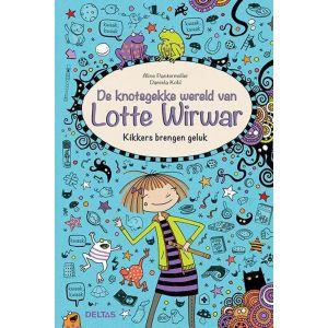 Boek Lotte wirwar kikkers brengen geluk