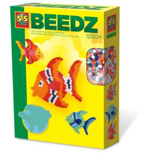SES BEEDZ: Strijkkralenset Vis