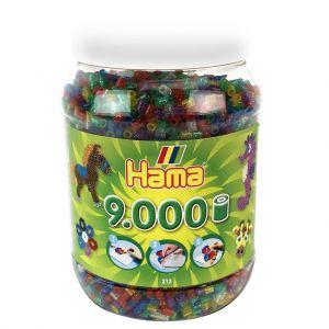 Strijkkralen Hama In Pot 9000 Stuks Glitter