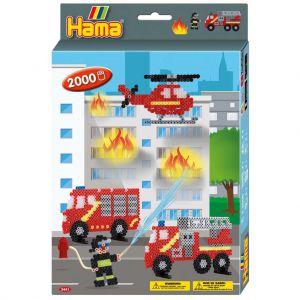 Strijkkralen Hama Brandweer 2000