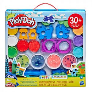 Playdoh Tools en Color Party