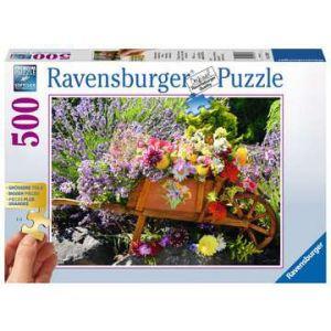 Puzzel 500 stuks bloemschikking