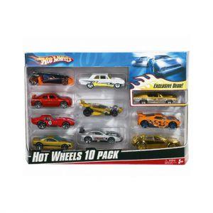 Hot Wheels Diecast 10 Pack Assorti