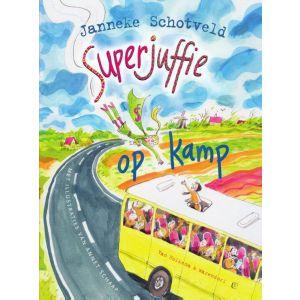 Boek superjuffie op kamp
