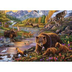 Puzzel 500 stuks wildernis