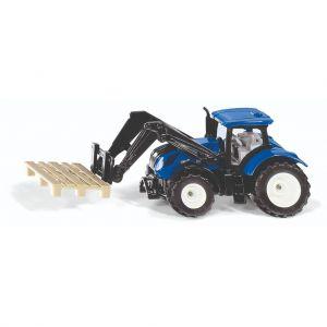 Siku tractor new holland met pallet