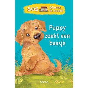 Boek puppy zoekt een baasje