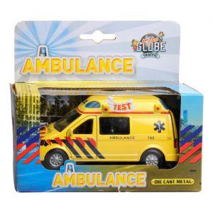 Auto pullback ambulance met geluid