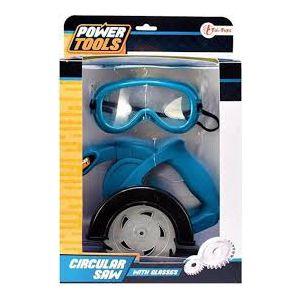 Power Tools cirkelzaag met bril