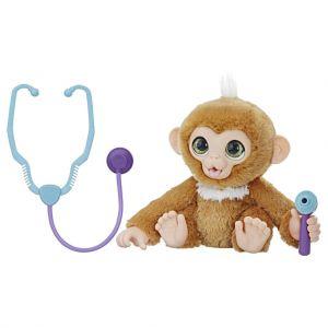 Zandi het zieke aapje
