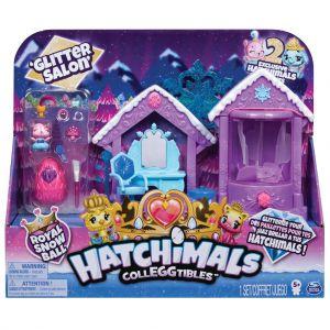Hatchimals glitter salon speelset